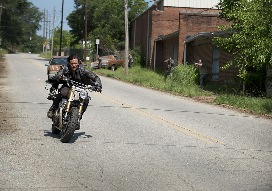 Norman Reedus as Daryl Dixon - The Walking Dead _ Season 6, Episode 6 - Photo Credit: Gene Page/AMC
