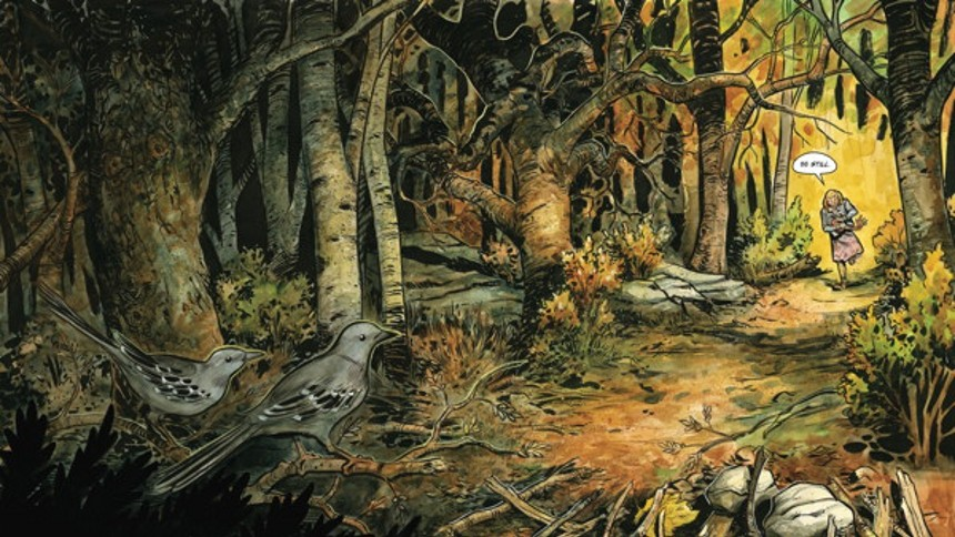'HARROW COUNTY' COMIC BEING ADAPTED FOR HORROR SERIES