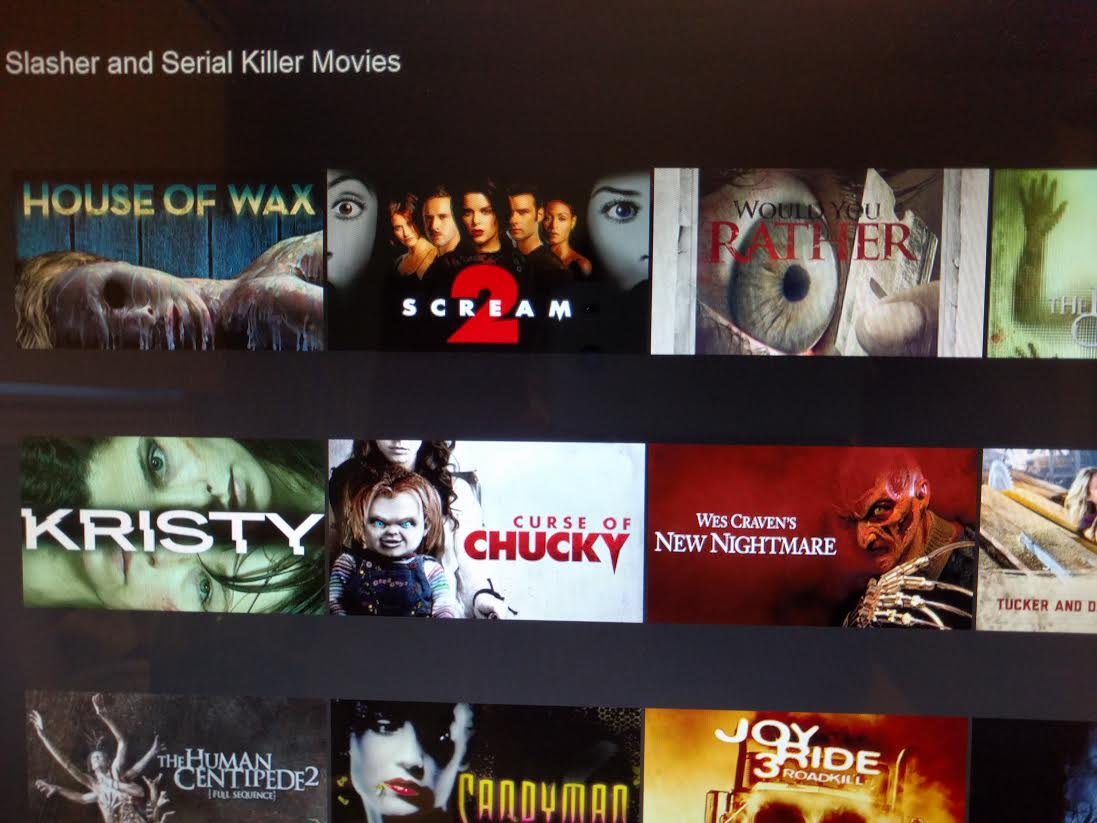 access all horror movies on netflix