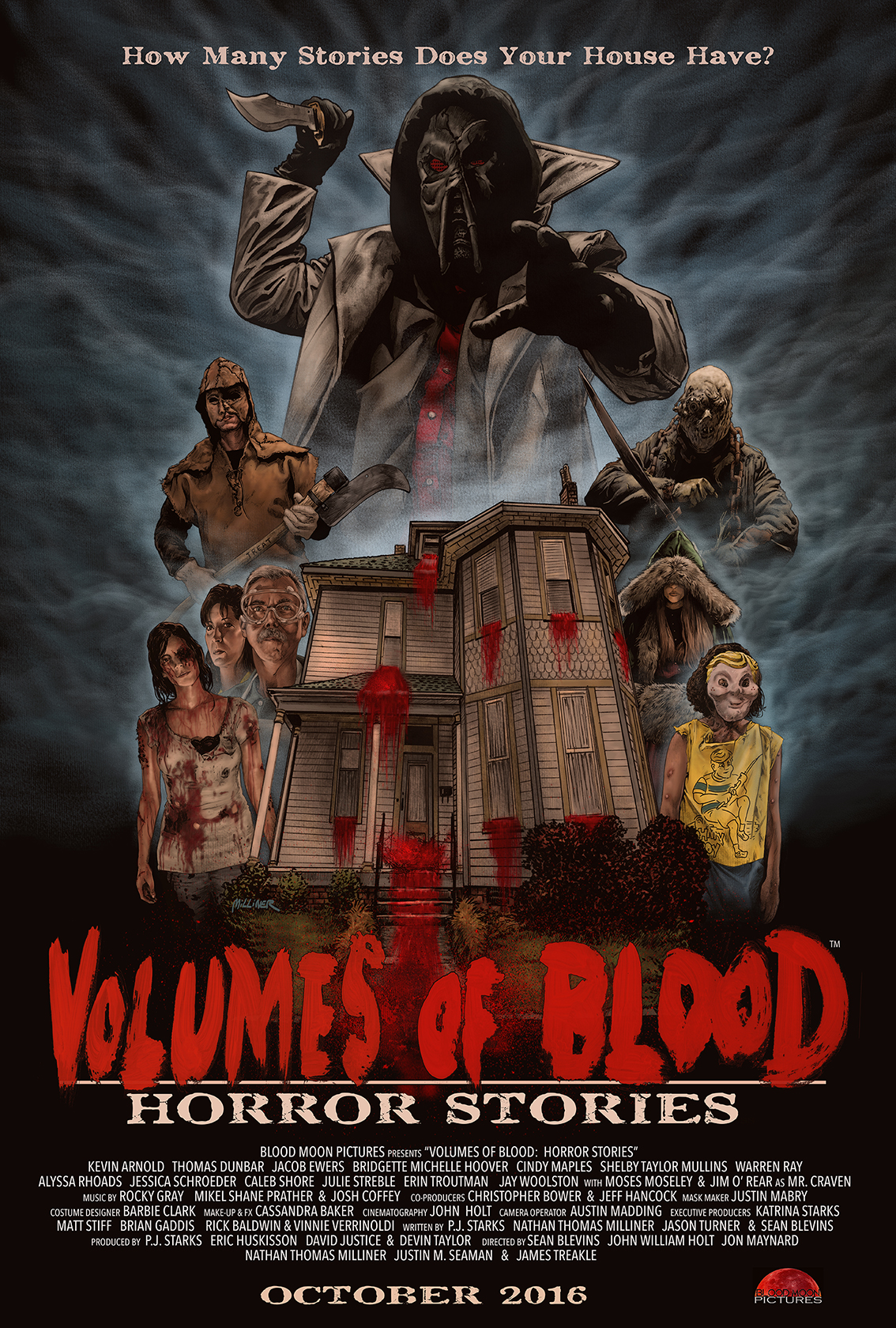 volumes of blood: horror stories